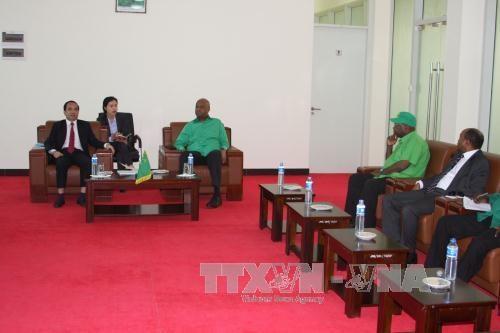 越南共产党代表团对坦桑尼亚进行访问 hinh anh 1