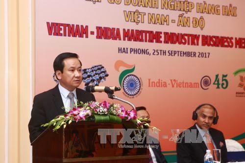 越南与印度加强造船业合作 hinh anh 1