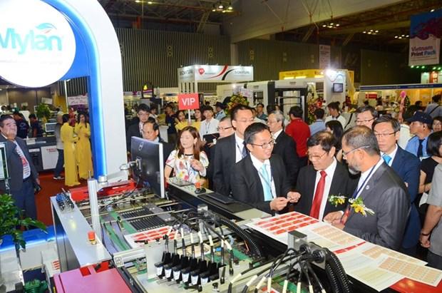 国内外300家企业将参加2017年越南国际包装及印刷工业展 hinh anh 1