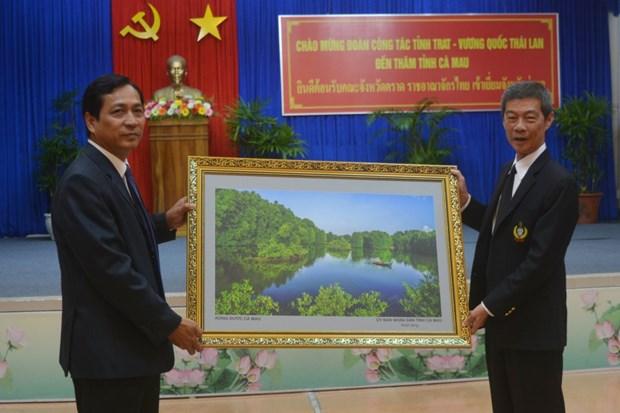 越南金瓯省与泰国达叻府加强旅游领域合作 hinh anh 1