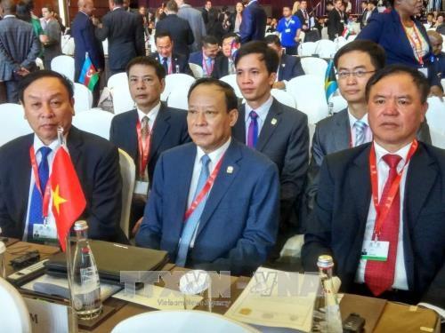 越南出席国际刑警组织第86届全体大会 hinh anh 1