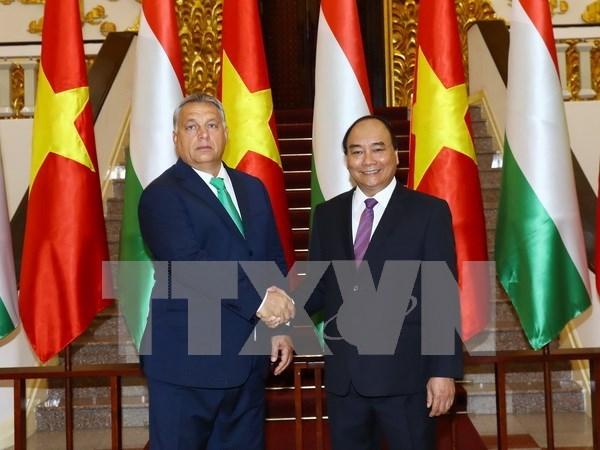 匈牙利总理奥尔班圆满结束对越南进行的正式访问 hinh anh 1