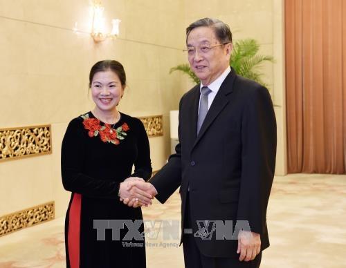 中国全国政协重视发展与越南祖国阵线中央委员会友好关系 hinh anh 1