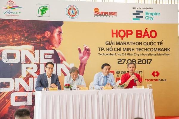 胡志明市将首次举行国际马拉松赛 hinh anh 1