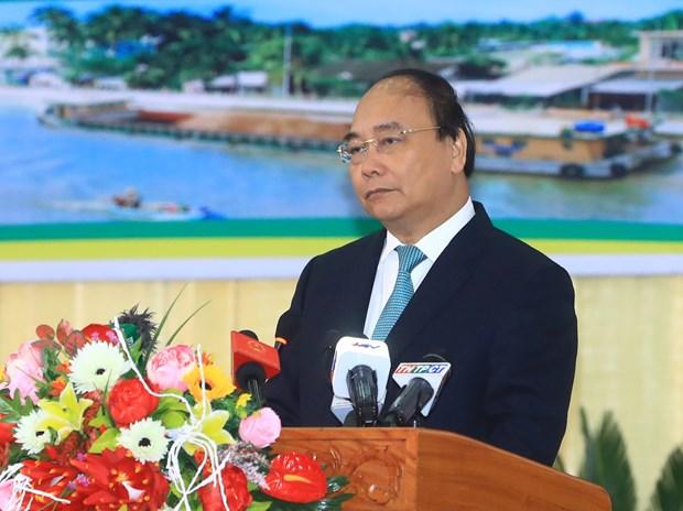 阮春福:后江省领导要倾听企业心声并为其创造最便利条件 hinh anh 2