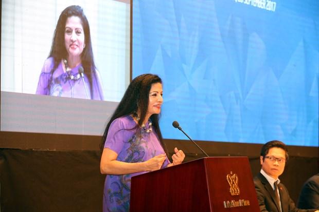 2017年亚太经合组织妇女与经济公私对话聚焦妇女经济赋权 hinh anh 3