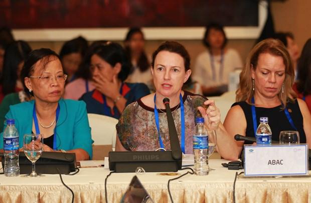 2017年APEC会议:妇女与经济政策伙伴会议落幕 hinh anh 1