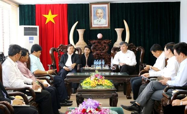 越南奠边省与老挝北部各省加强农业合作 hinh anh 1
