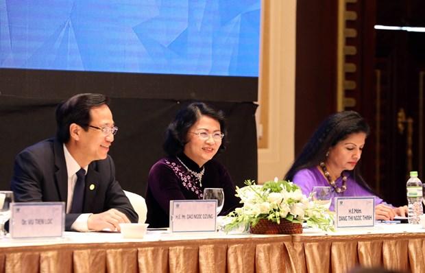 2017年亚太经合组织妇女与经济公私对话聚焦妇女经济赋权 hinh anh 1