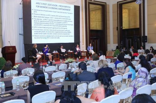 APEC公私对话:提高女性领导企业占比—— 如何使目标变成事实 hinh anh 1