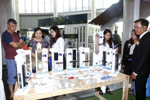 近900家企业参加2017年第二次越南胡志明市国际建材展览会 hinh anh 1