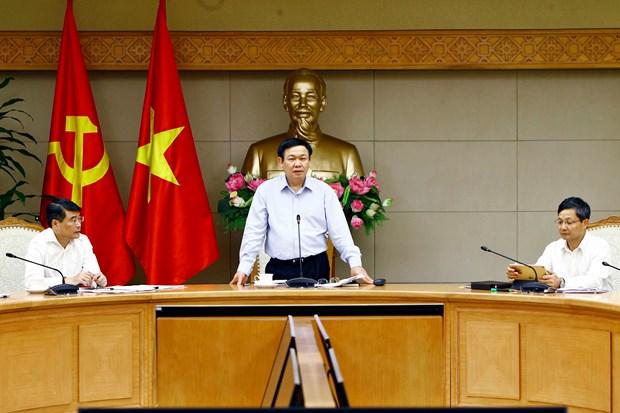 王廷惠主持国家货币与财政政策咨询委员会会议 hinh anh 1