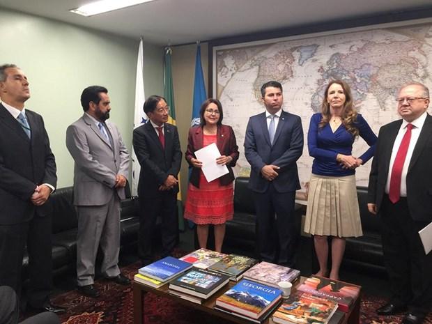 巴西—越南友好议员小组正式亮相 hinh anh 1