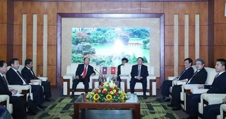 进一步加强越老两国内务领域的合作 hinh anh 1