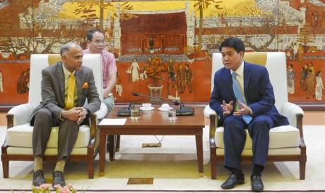 河内希望印度支持该市信息技术人力资源培训工作 hinh anh 1