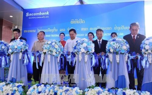 老挝西贡商信有限责任银行继续扩大分支机构网络 hinh anh 2