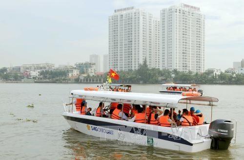 越南胡志明市推出7条新河上旅游路线 hinh anh 1