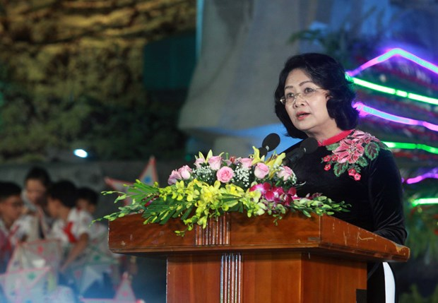 越南国家副主席邓氏玉盛出席2017年宣城节开幕式 hinh anh 2