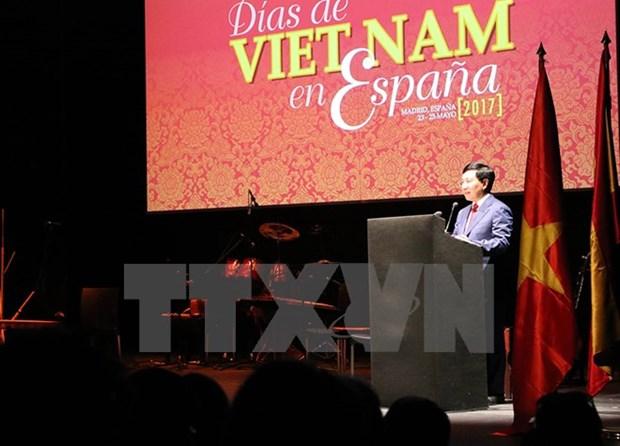 越南与西班牙加深友谊 hinh anh 1