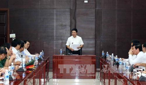 越南政府副总理范平明主持APEC领导人会议周流程预演 hinh anh 1