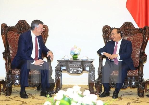 阮春福总理:越南将与波音集团的合作视为具有战略性和长远性的合作 hinh anh 1