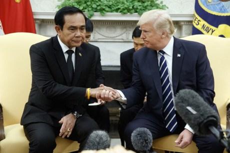 泰国总理巴育访问美国 hinh anh 1