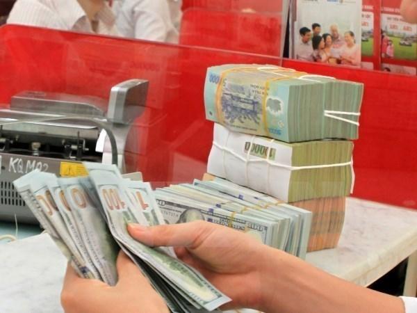 10月3日越盾兑换美元中心汇率上涨5越盾 hinh anh 1