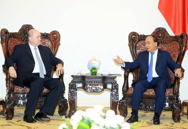 政府总理阮春福会见古巴外贸外资部长马尔米耶卡 hinh anh 2
