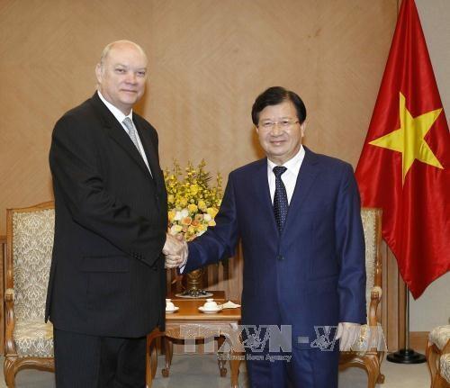 越古政府间联合委员会为深化两国关系扮演重要角色 hinh anh 1