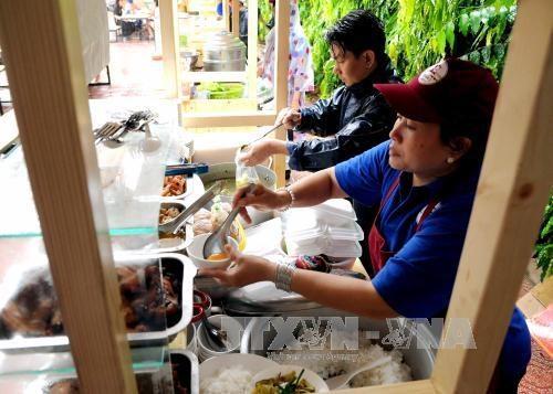 胡志明市第二条摊贩街正式投入运营 hinh anh 1