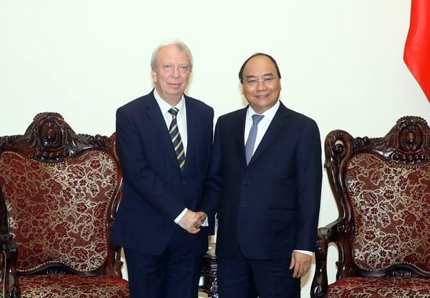 阮春福总理:越保两国的合作潜力仍然巨大 hinh anh 1