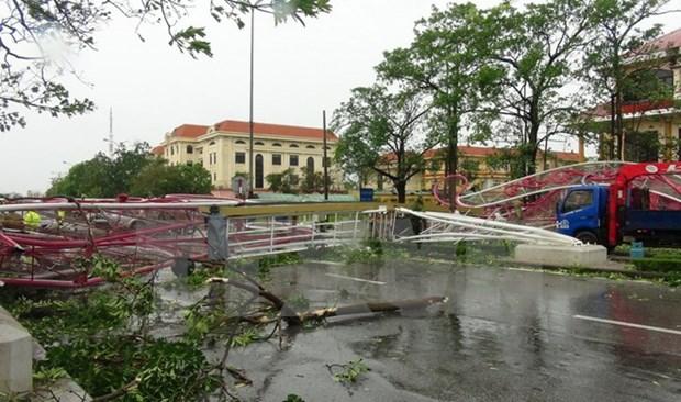 古巴领导人就越南中部遭受台风袭击造成严重损失向越南领导人致慰问电 hinh anh 1
