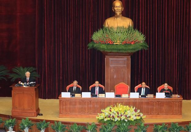 越共第十二届中央委员会第六次全体会议今日开幕 hinh anh 1