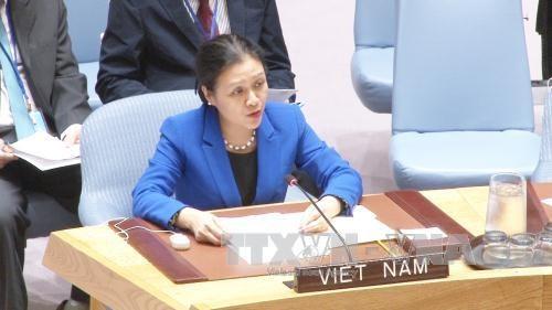 越南出席第72届联合国大会裁军和国际安全委员会会议 hinh anh 1
