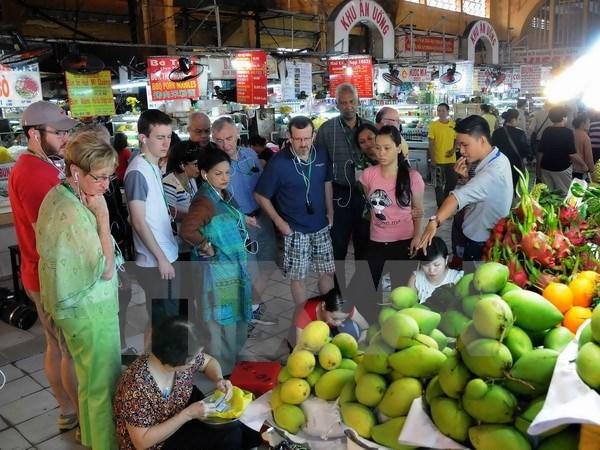 2017年前9月胡志明市国际游客到访量达420万人次 hinh anh 1
