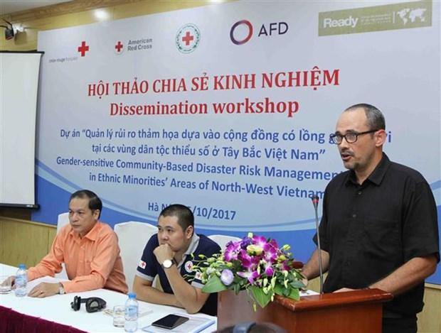 越南西北少数民族地区灾害风险管理项目实施经验分享会在河内召开 hinh anh 3