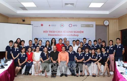 越南西北少数民族地区灾害风险管理项目实施经验分享会在河内召开 hinh anh 1