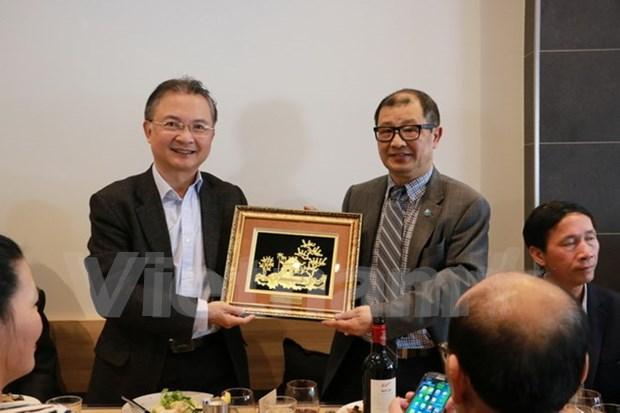 越南驻澳大利亚商人协会为促进越澳经济外交提供鼎力支持 hinh anh 1