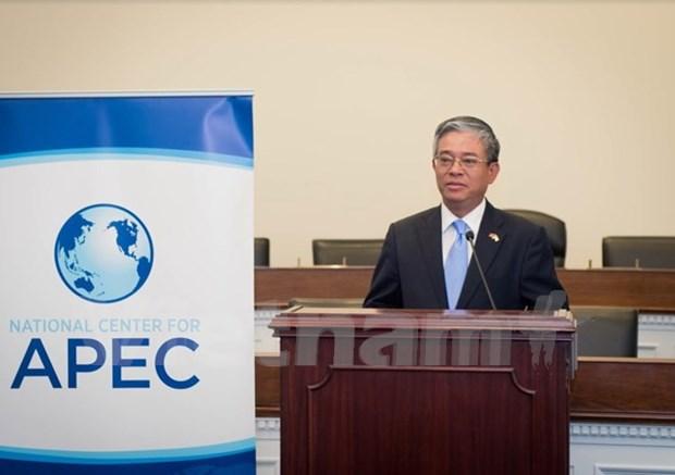 美国参议院议员APEC支持小组成立 hinh anh 1