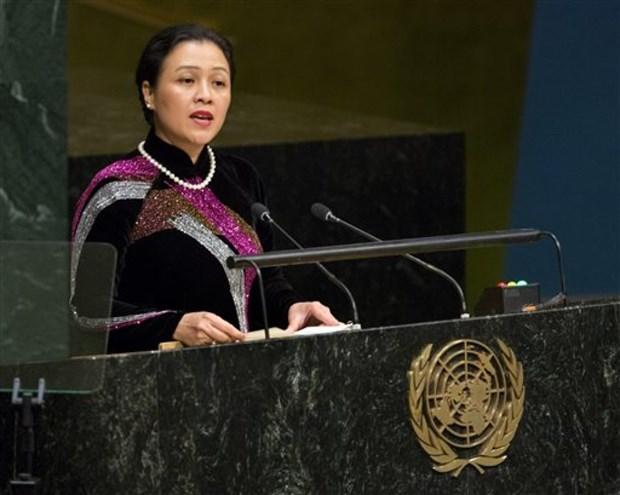 越南承诺与联合国合作 加强法治实现可持续发展目标 hinh anh 1