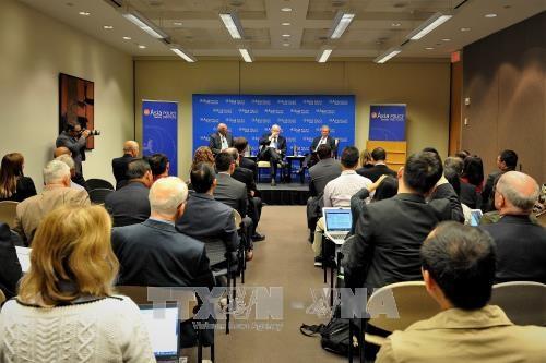 """越南驻美国大使范光荣出席在澳大利亚举行的""""亚太安全""""座谈会 hinh anh 1"""