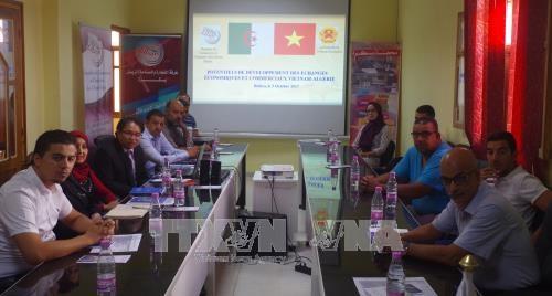 越南与阿尔及利亚贸易投资促进会在比斯克拉省举行 hinh anh 1