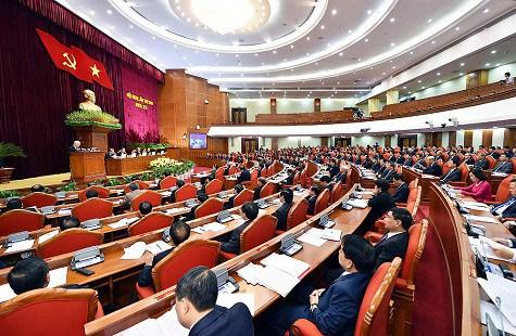 越南各界舆论关注越共十二届六中全会的各项内容 hinh anh 1