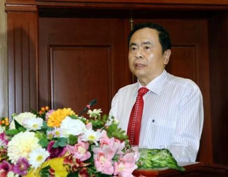 陈青敏:希望越南企业家努力以质量打造品牌 hinh anh 1
