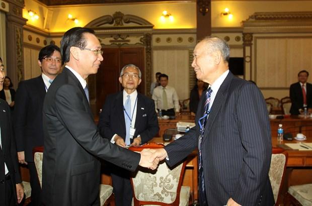 胡志明市与日本加强民间外交合作 hinh anh 1