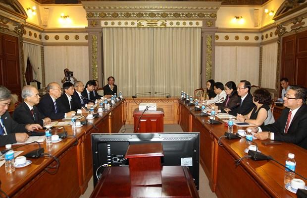 胡志明市与日本加强民间外交合作 hinh anh 2