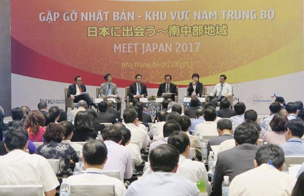 中部以南七省同日本促进合作 hinh anh 1