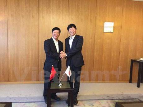 越南加大在日本的投资促进工作力度 hinh anh 1