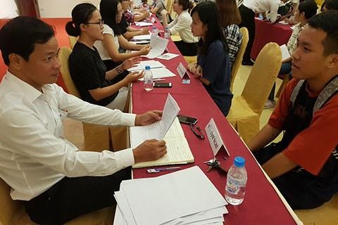 2017年APEC会议:岘港市抓紧展开志愿者选拔工作 hinh anh 1