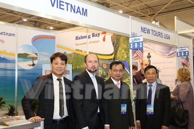 第24届乌克兰国际旅游展:越南展位留住参展有者的脚步 hinh anh 1